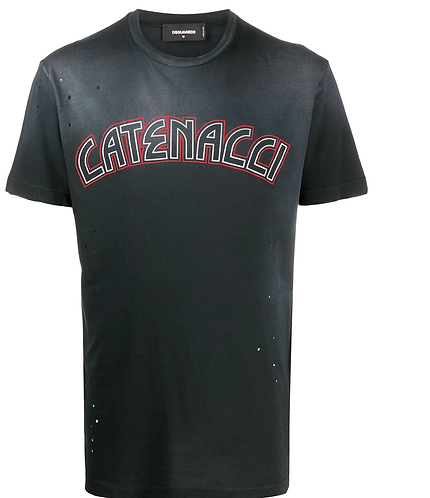 Catenacci T-shirt dsquared2 S71GD0959S21600900