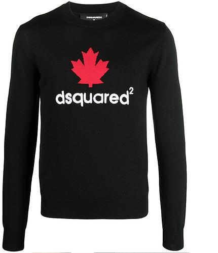 pull dsquared2 Mini D2Leaf Sweater S74HA1195S17786961