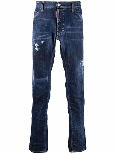jean dsquared2 Perfecto Blue Wash Cool Guy Jeans S71LB0988S30342470