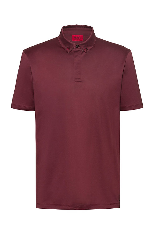 hugo boss Polo Regular Fit en pur coton Modèle Dauter - 50421639 601