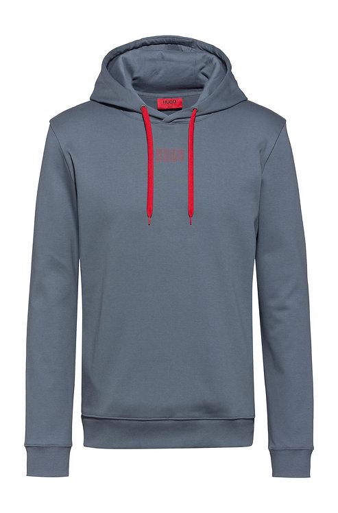 SWEAT HUGO Sweat à capuche en coton interlock avec logo de la nouvelle saison Modèle Dondy203 - 50432328