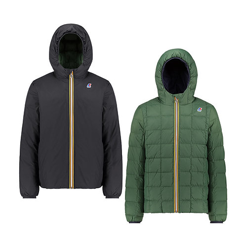 KWAY JACQUES THERMO PLUS.2 DOUBLE BLACK PURE - GREEN K111BEW