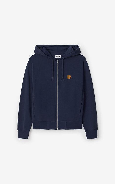 Sweatshirt zippé à capuche Tiger Crest FA65BL7214MD.76