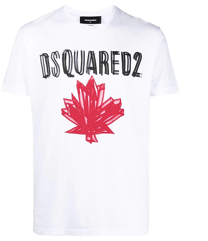 dsquared2 Maple Leaf T-Shirt S74GD0848S23852100