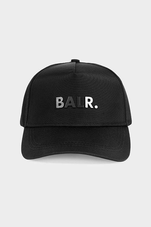 casquette balr CLASSIC OXFORD CAP BLACK b1000.3222