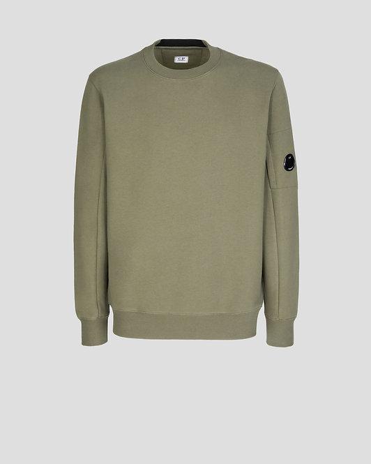 sweat cp company Diagonal Raised Fleece Sweatshirt 11CMSS055A005086W665