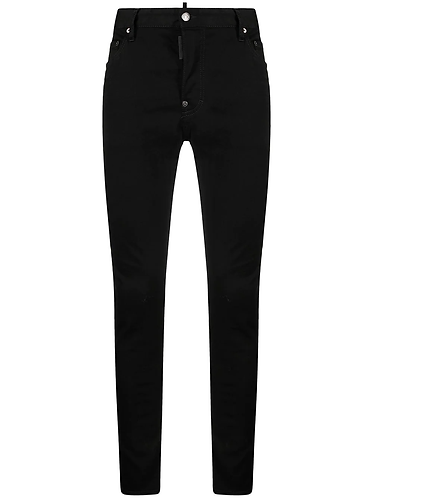 dsquared2 Trash Black Bull Wash Super Twinky Jeans S74LB0927S30730900
