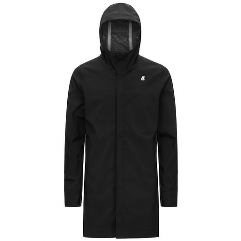 KWAY TOMMY BONDED JERSEY BLACK PURE k00bqc0-usy