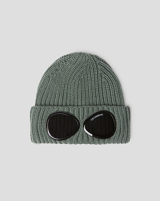 bonnet goggle cp company Extra Fine Merino Wool Goggle Beanie 11CMAC122A005509A665