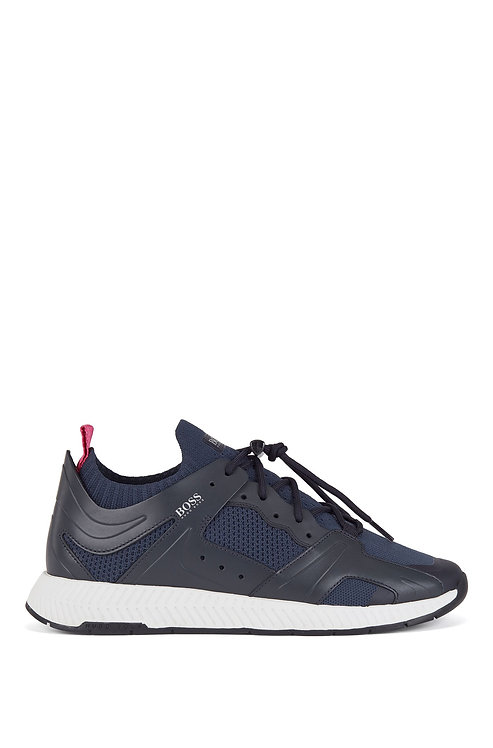 BASKETS BOSS Baskets façon chaussures de randonnée avec détails en cuir 50432770