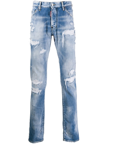 jean dsquared2 Rainbow Cool Guy Jeans S71LB0707S30309470