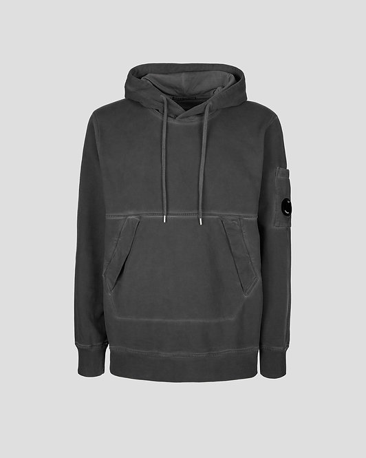 sweat à capuche cp company Diagonal Fleece Utility Hoodie 11CMSS291A006090S999