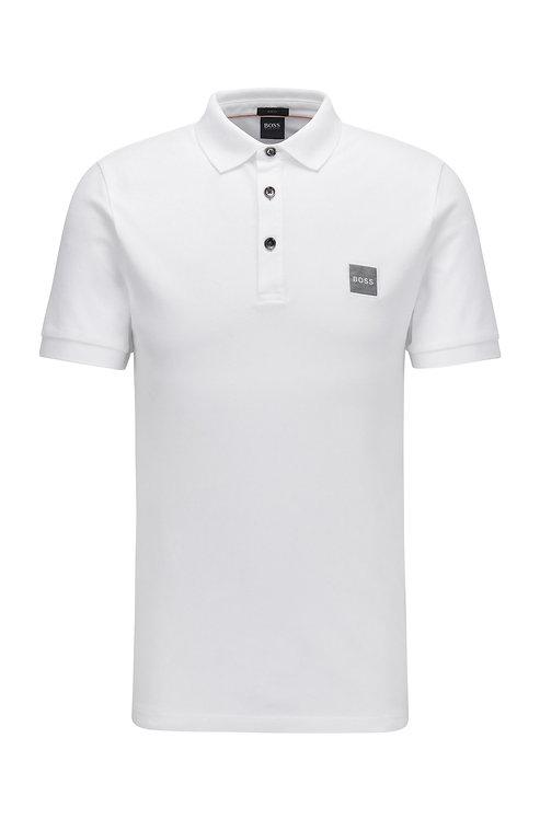 POLO HUGO BOSS MODÈLE PASSENGER 1 - 50462781 Polo Slim Fit en piqué de coton stretch