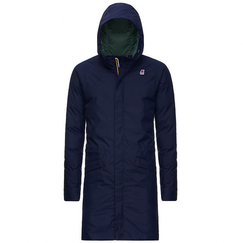 kway JEREMY THERMO PLUS.2 BLUE GREEN K111BGW A1F