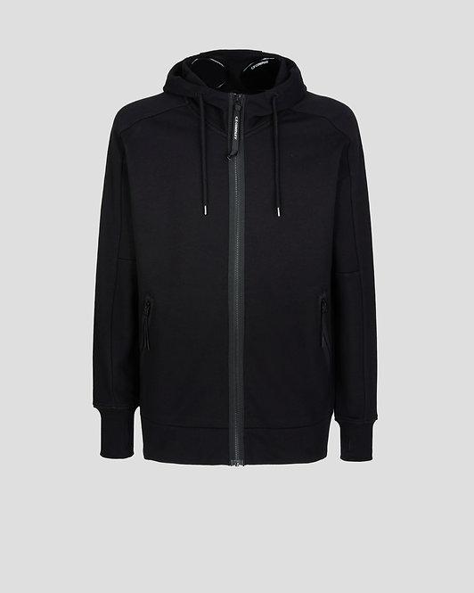 gilet zippé cp company Diagonal Raised Fleece Goggle Hoodie 11CMSS060A005086W999