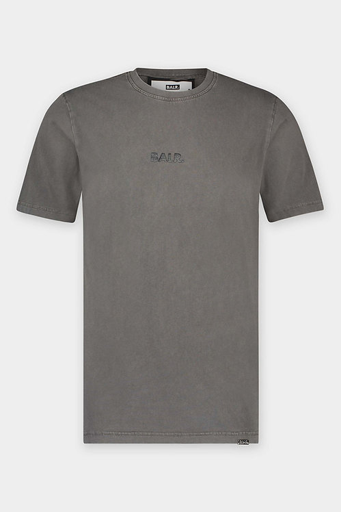 tshirt balr OLAF STRAIGHT WASHED T-SHIRT WILD DOVE b1112.1041.826