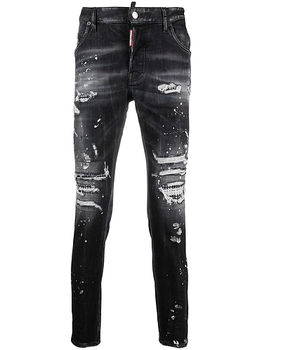 dsquared2 Trash Black Wash Super Twinky Jeans S74LB0919S30503900