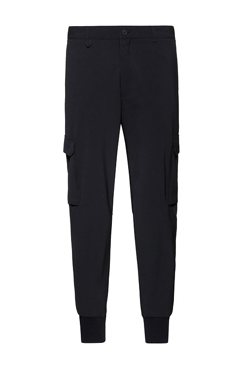 Pantalon cargo Slim Fit en twill stretch HUGO Modèle Glavin211 - 50441760