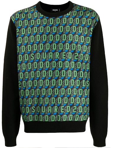 pull dsquared2 D2Monogram Sweater S74HA1182S17807962