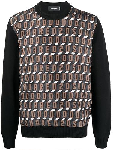 pull dsquared2 D2Monogram Sweater S74HA1182S17807961
