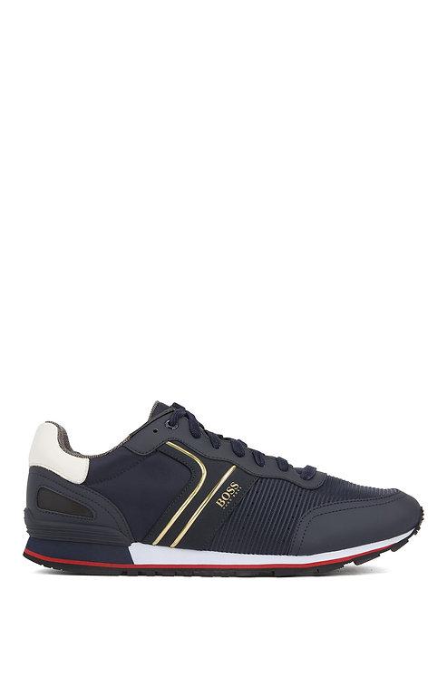 hugo boss Baskets style chaussures de course avec doublure en charbon de bambou Modèle Parkour_Runn_strb - 50422380