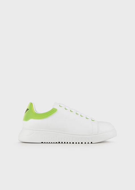 Sneakers avec empiècement fluo X4X264XM2281A133