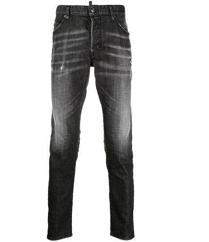 dsquared2 Black 2 Wash Skater Jeans S74LB0880S30357900