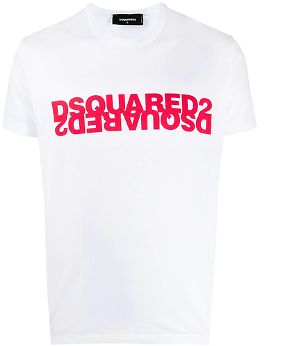 dsquared2 Mirrored Logo T-Shirt S74GD0635S22427989X