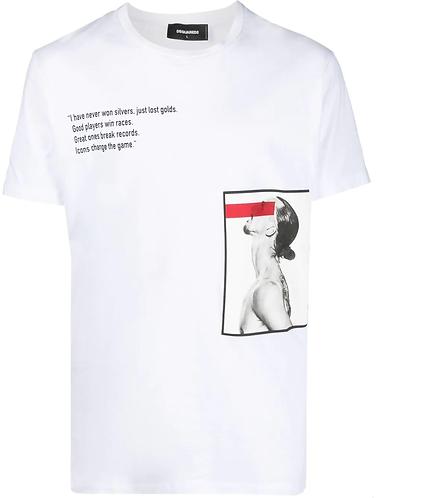t-shirt dsquared2 ibrahimovicD2xIbra Icon Change The Game T-Shirt S79GC0025S23009100