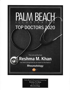 Top rheumatolgist in palm beach