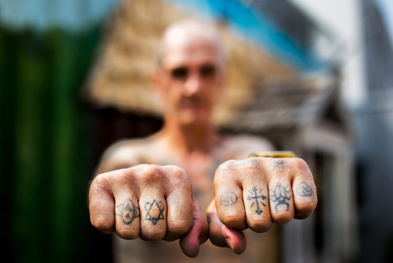 Prison artist Piotr