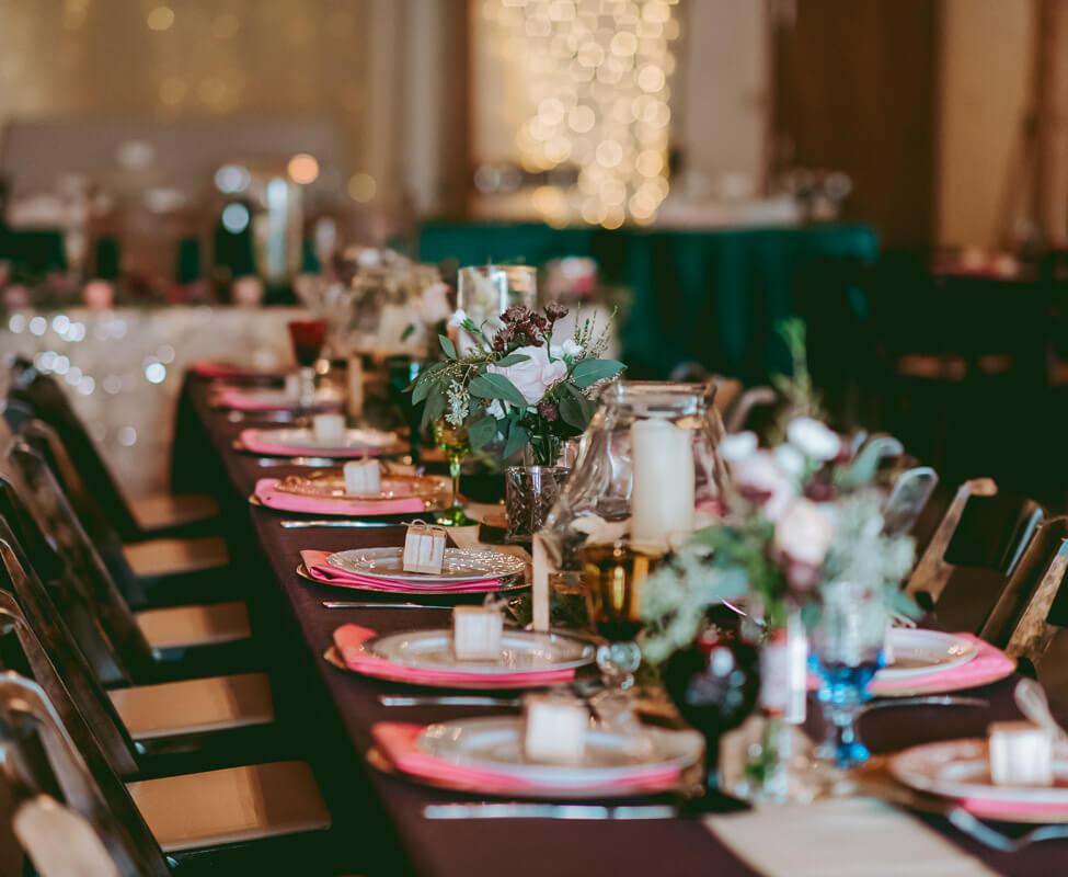 Hill Country Wedding Venue- Indoor Recep