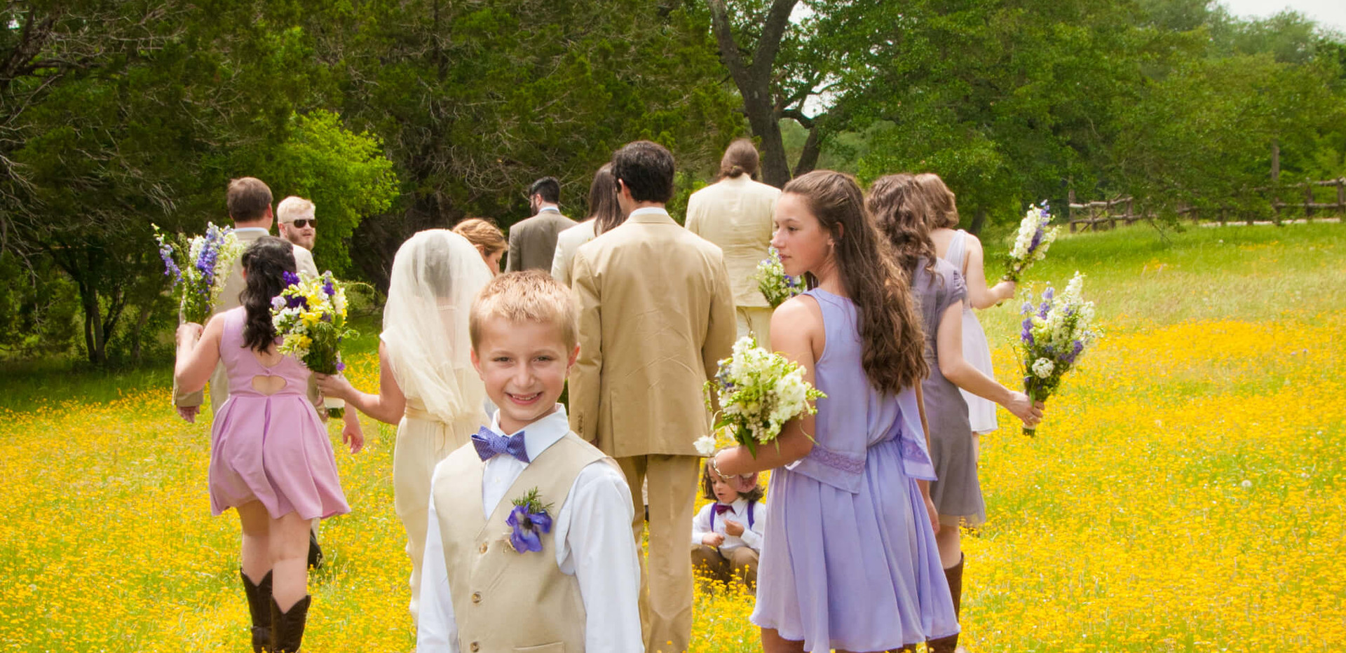 Hill Country Wedding Venue- Wedding Part