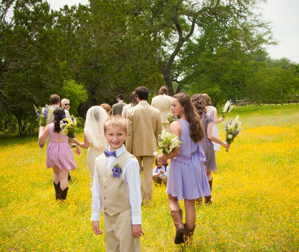 Hill Country Wedding Venue- Wedding Part