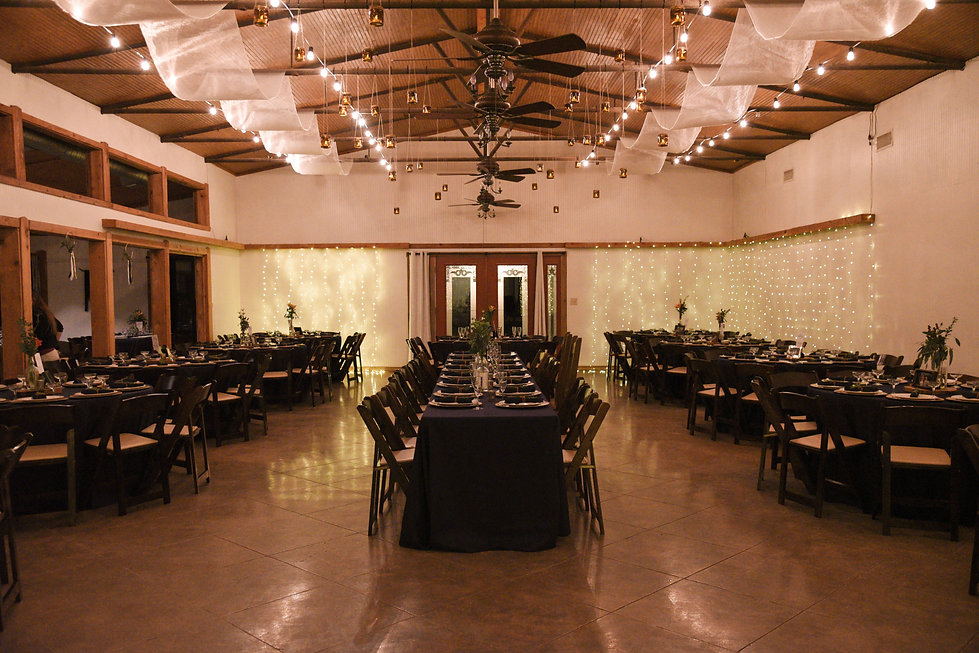 Wimberley Weddings- Event & Dining Hall.