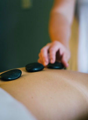 Hill Country Lodging- Hot Stone Massage.