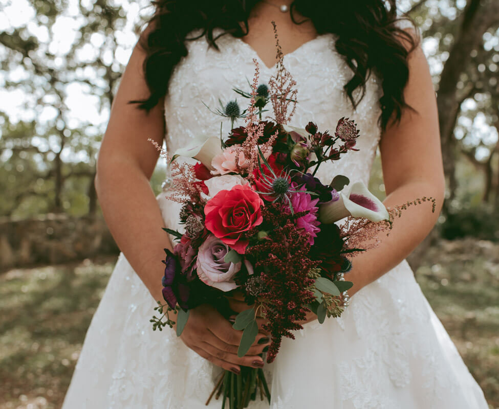 Hill Country Wedding Venue- In House Flo