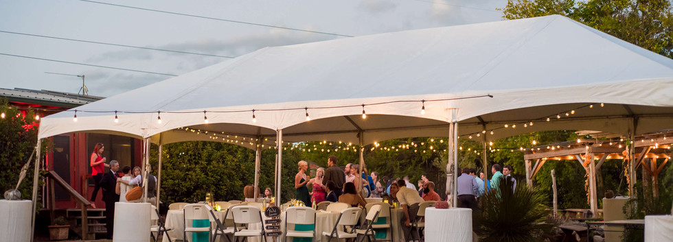 Wimberley Wedding Venue- Rented Tent for