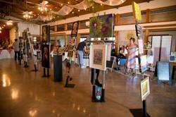 Wimberley Event Venue- Indoor Gallery Sp