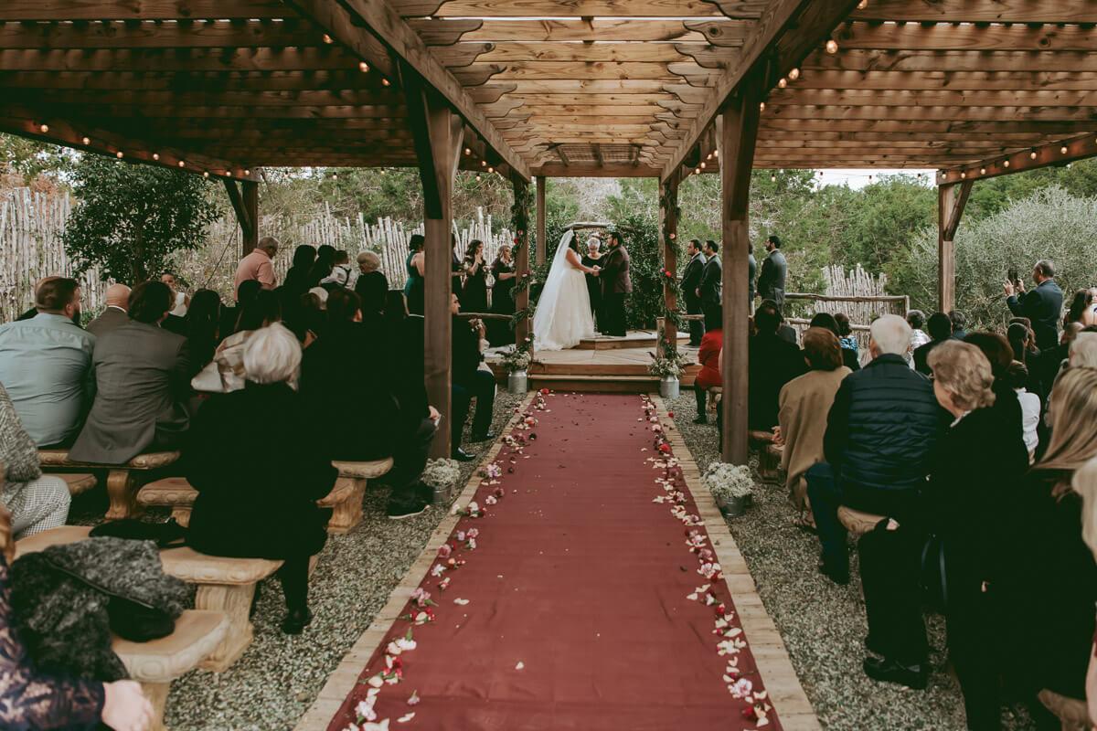 Hill Country Wedding Venue- Outdoor Cere