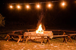 Hill Country Wedding Venue- Firepit at n