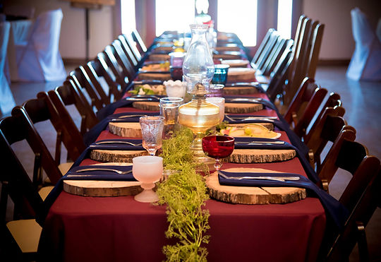 Wimberley Wedding Venue- Dining Decor.jp