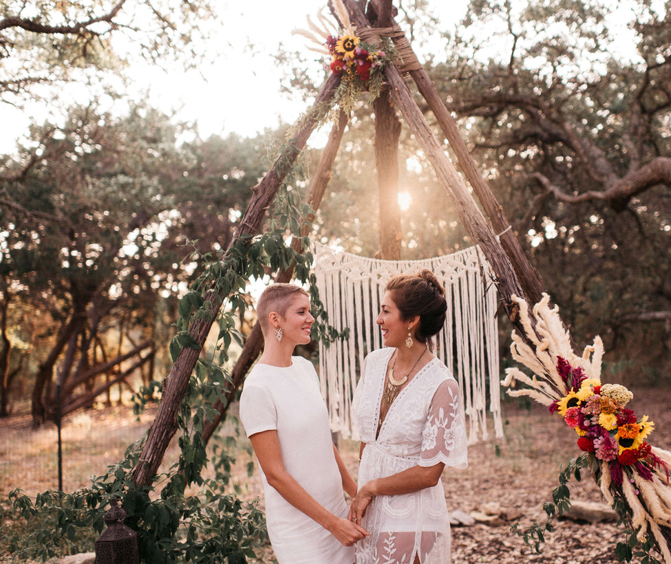 Wimberley Wedding Venue- Small Ceremony.