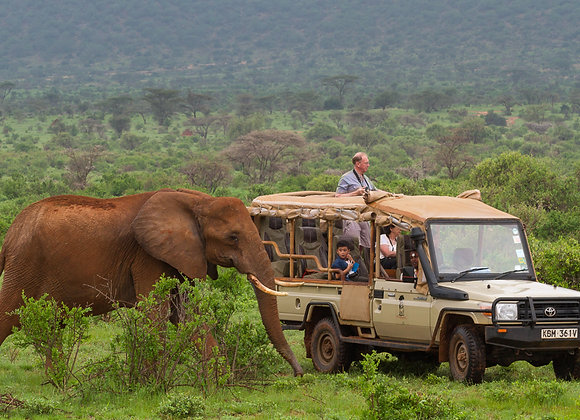 2 Nights / 3 Days Samburu Safari