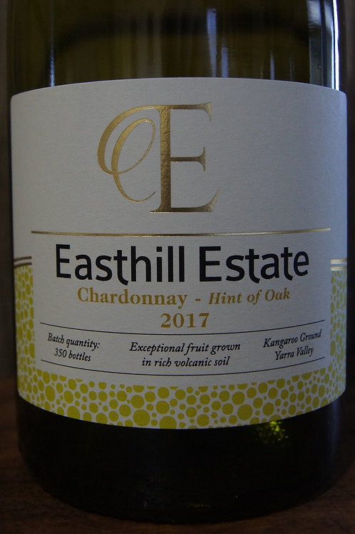 Easthill Estate Chardonnay - Hint Of Oak 2017