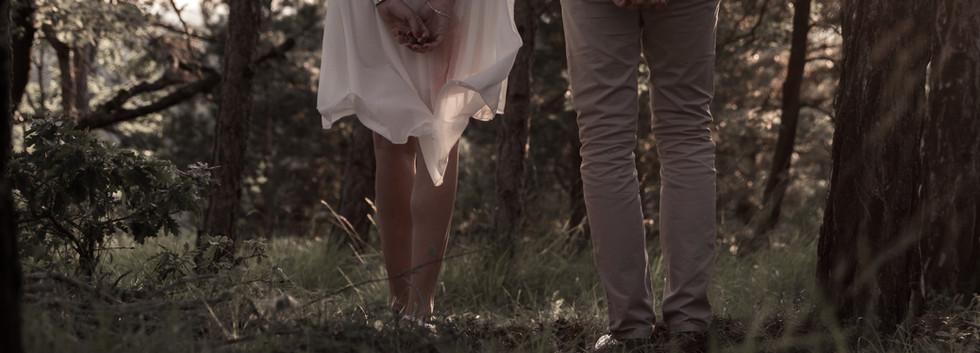 Séance photos de couple - noces de coton - Tarn