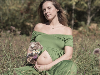Séance photos de grossesse castres mazamet tarn