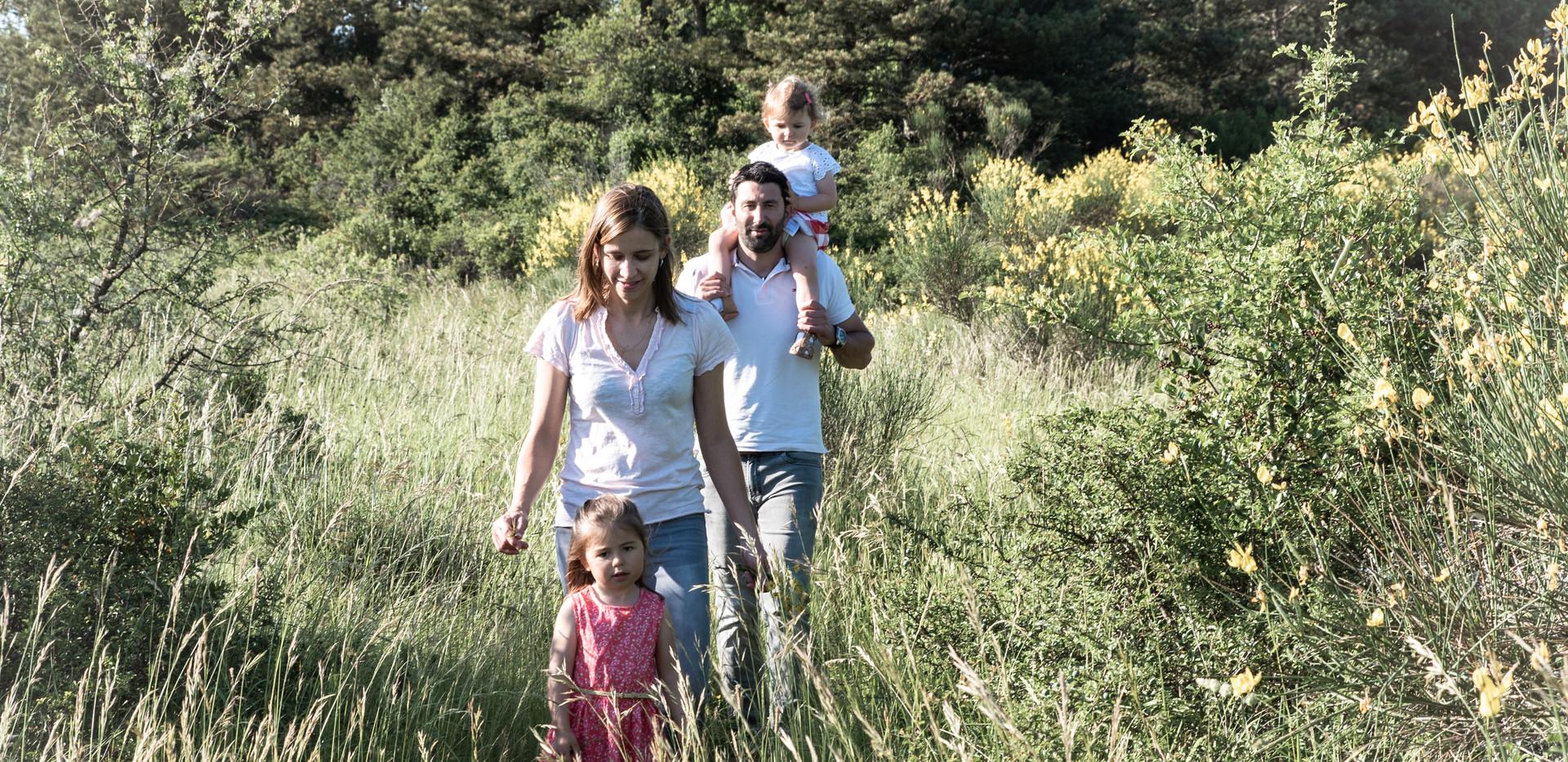 Séance Photos Famille à Valdurenque