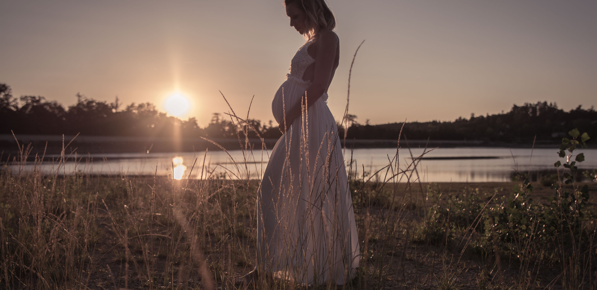 Séance photos de grossesse Tarn