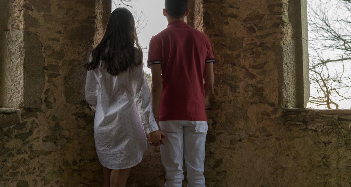 Séance photos couple Saint-Valentin